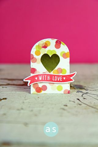 A Muse Studio J15 Candy Package One With Love and Gold Heart Sticker