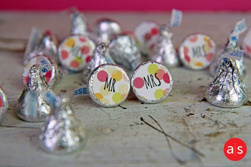 A Muse Studio You and Me Hershey Kisses HZ