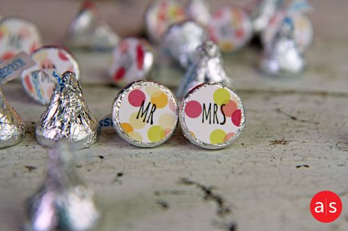 A Muse Studio You and Me Hershey Kisses HZ2