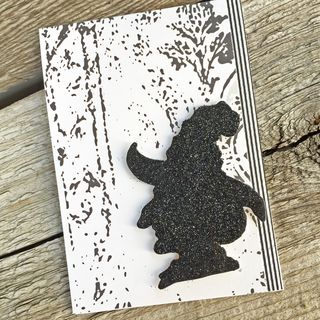 A Muse Studio Witchy Woman - black glitter