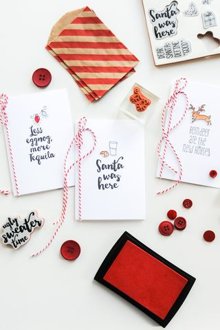 A Muse Studio Santa and Friends Cards