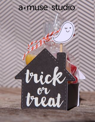 A Muse Studio Gingerbread Tag die - Trick Or Treat
