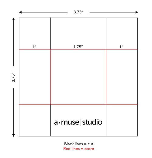 A Muse Studio Trick or Treat box template