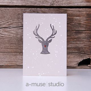 A Muse Studio November 15 Collection - Hello Deer on pebble