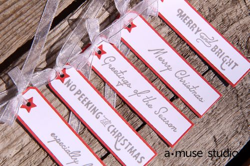 A Muse Studio Especially For You Gift Tags with Star