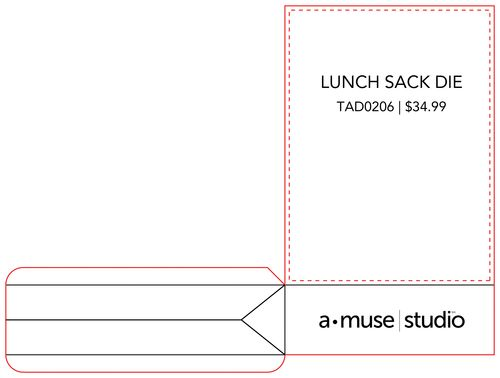 A Muse Studio Lunch Sack die