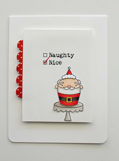 Merry Christmas Sweetie Santa A2