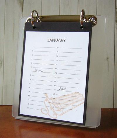 A2 amuse calendar ctmh flip stand album 014