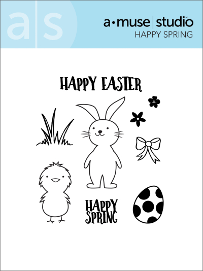 Happy Spring stamp set