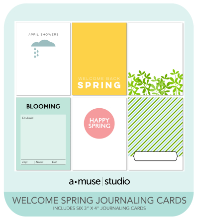 Welcome Spring Digital Kit promo
