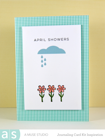 A Muse Studio Welcome Spring Digi Kit - april showers s