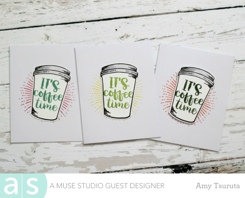 Coffee Time Trio by Amy Tsuruta for A Muse Studio