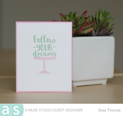 Follow your dreams by Amy Tsuruta for A Muse Studio