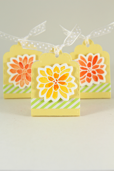 A Muse Studio Summer Blooms candy package with Paper Tape V