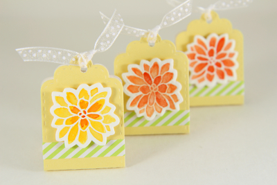 A Muse Studio Summer Blooms candy package with Paper Tape H